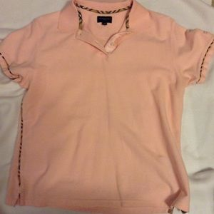 Burberry Pink Polo